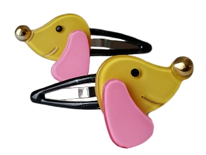 Dog Snap Clip - Yellow