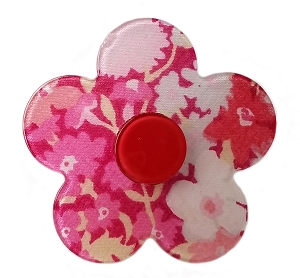 Liberty of London Button Flower Clip
