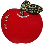 Apple Clip - Red