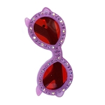 Sunglasses Crystal Clip - Lavender