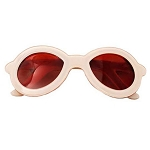 Sunglasses Solid Clip -  Ivory