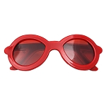 Sunglasses Solid Clip - Red