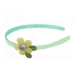 Flower Headband - Jade