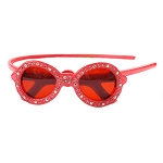 Sunglasses Crystal Headband - Pink