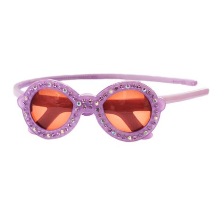 Sunglasses Crystal Headband - Lavender
