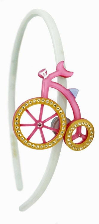 Tricycle Headband - Pink
